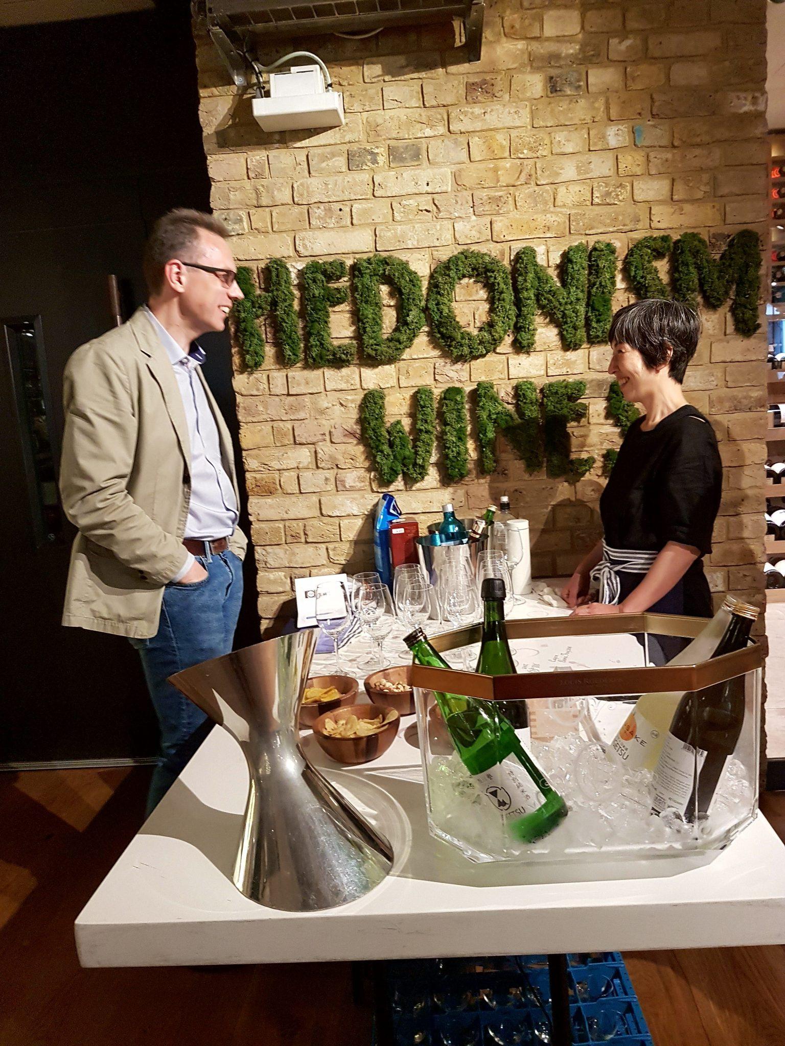 Selfridges and Deep Water Sake Tasting at Hedonism Wines