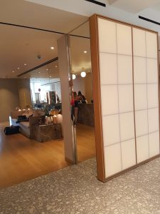Shoji doors, Selfridge