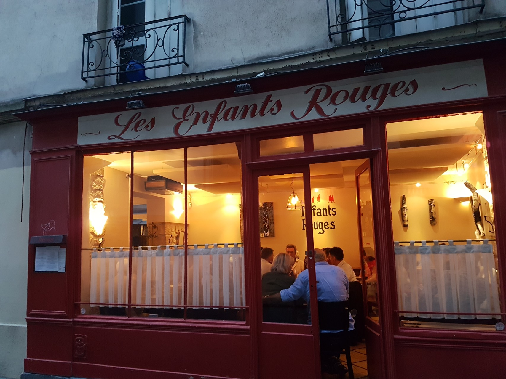 Sake in Paris 1: Le Samurai and Les Enfants Rouges