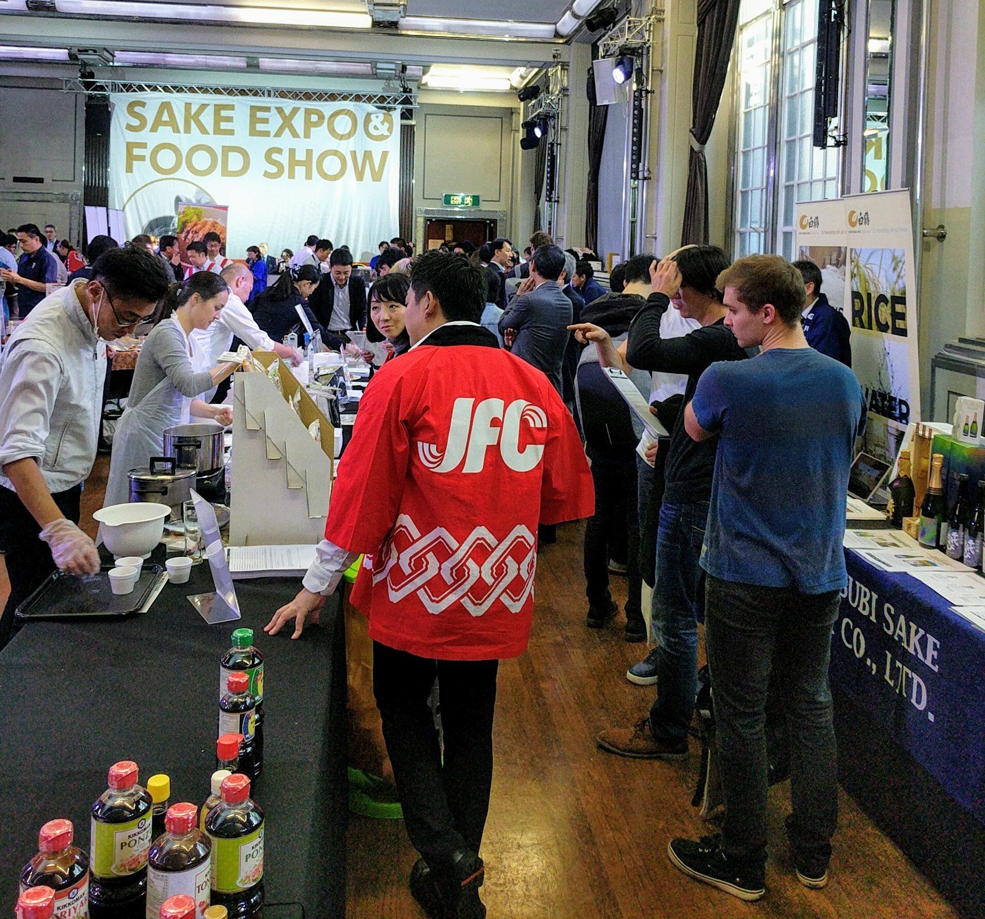 JFC Sake Expo & Food Show Pt  2 - 杉玉 Sugidama: Sake blog