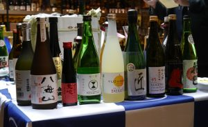 How to survive a sake tasting