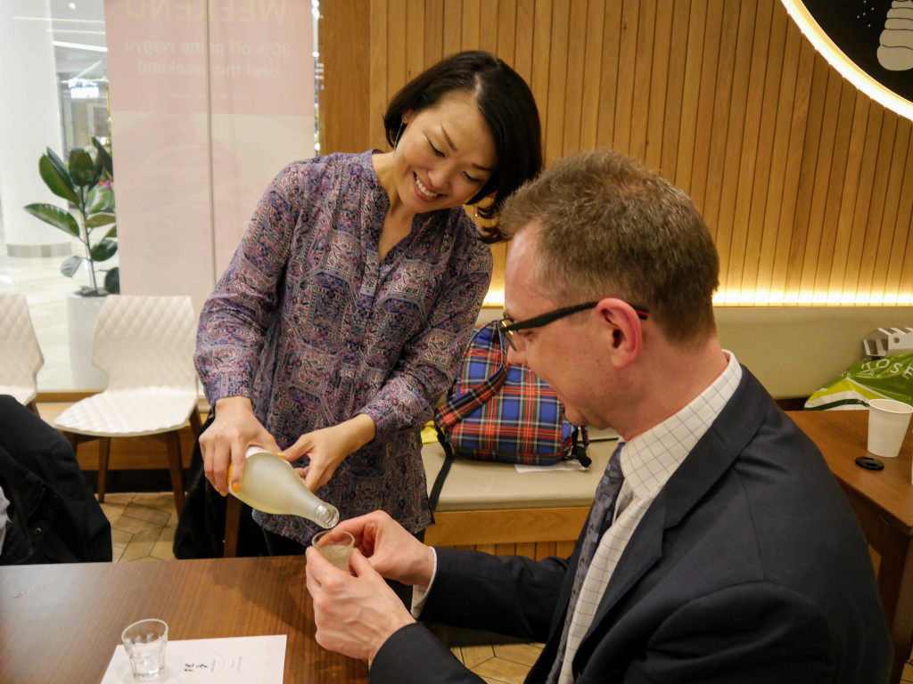 Sake Workshop at Ichiba London