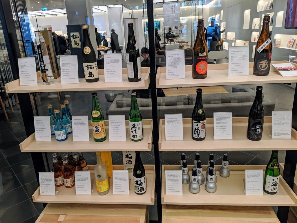 SSI sake taste profiles