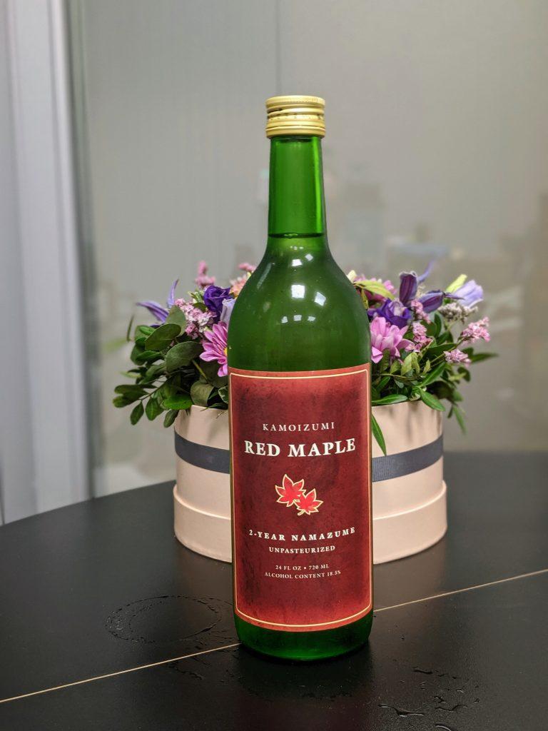 Kamoizumi Red Maple Nama Genshu