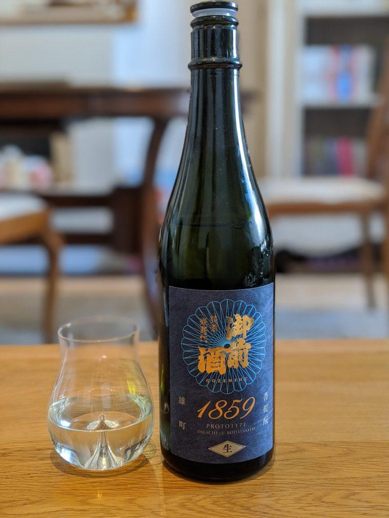 Buy sake online: Gozenshu 1859 Prototype Junmai Muroka Nama Genshu Nakadori Bodaimoto