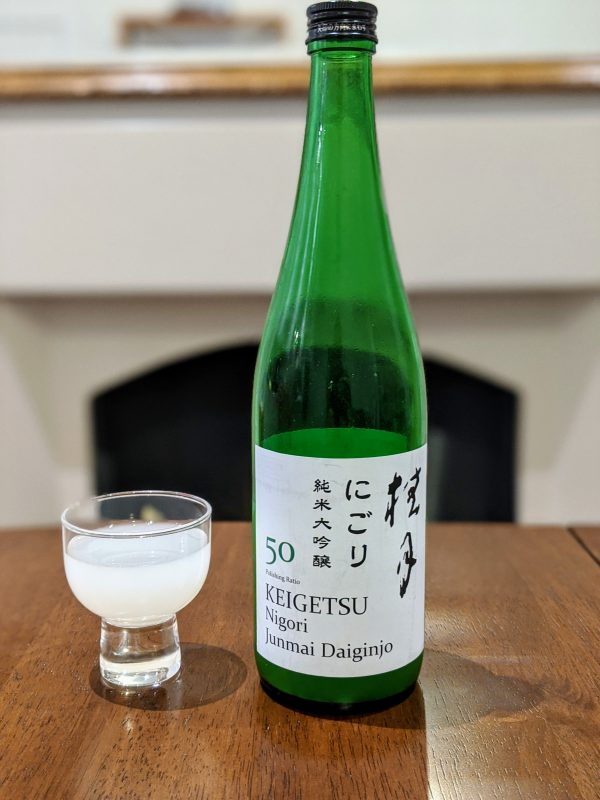 Keigetsu Nigori Junmai Daiginjo from Tosa Brewing Company
