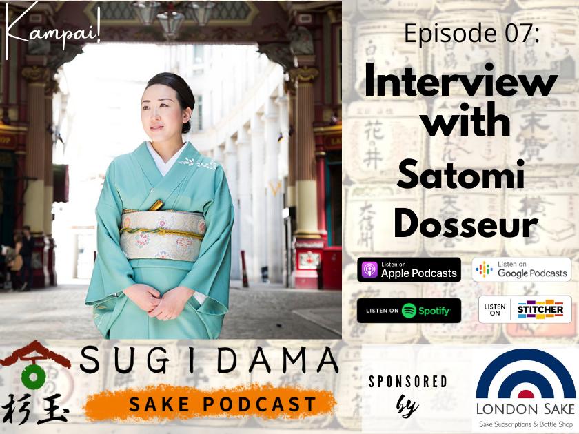Sake tips from Satomi Dosseur