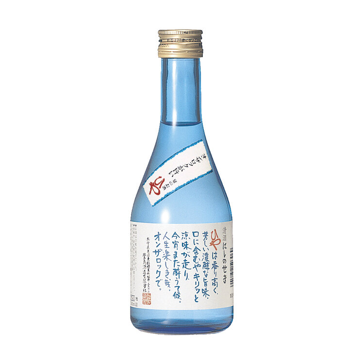 Nishinoseki Cube Honjozo Genshu Sake