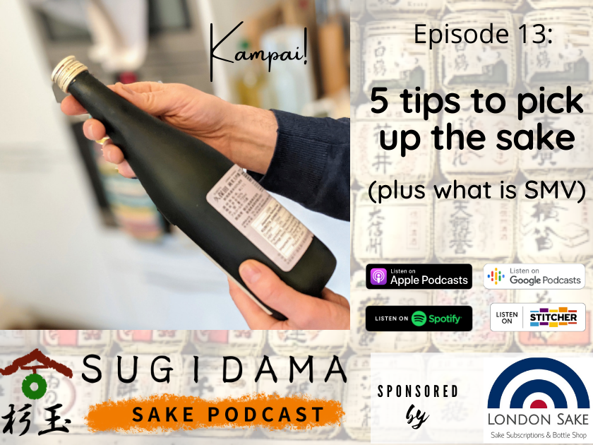 5 tips to pick up the sake you will enjoy (plus what is SMV)