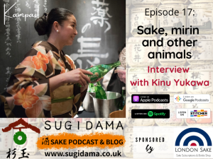 Read more about the article Sake, mirin and other animals  (Interview with Kinu Yukawa)